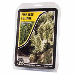 Woodland Scenics F1132 Light Green Fine Leaf Foliage Scenic Brush Flock