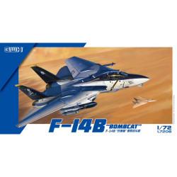 Great Wall Hobby L7208 F-14B Bombcat 1:72 Plastic Model Aircraft Kit