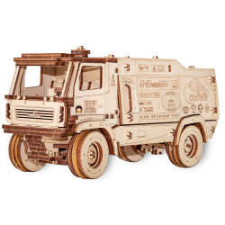 Eco Wood Art - MAZ 5309RR 1:30 Mechanical Wooden Model Kit No Glue Required