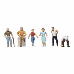 Woodland Scenics A1824 Ordinary People HO OO Gauge Figures