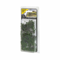 Woodland Scenics FS638 Briar Patch Medium Green Scenic Brush Foliage Flock
