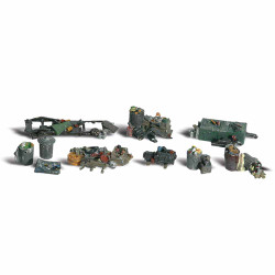 Woodland Scenics A1852 Assorted Junk HO OO Gauge Figures