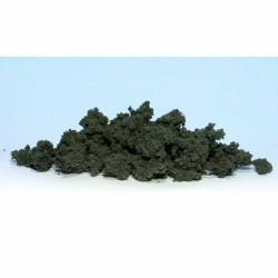 Woodland Scenics FC184 Dark Green Clump Foliage - Bag Scenic Brush Flock