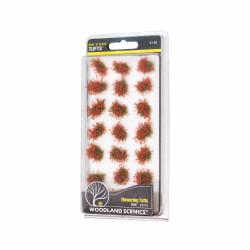 Woodland Scenics FS773 Red Flowering Tufts Scenic Brush Foliage Flock