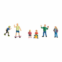 Woodland Scenics A1830 Kids At Play HO OO Gauge Figures