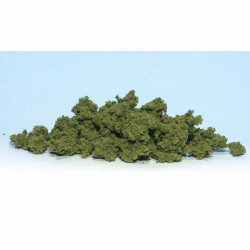Woodland Scenics FC182 Light Green Clump Foliage Bag Scenic Brush Foliage Flock