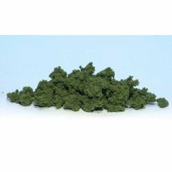 Woodland Scenics FC183 Med Green Clump Foliage - Bag Scenic Brush Flock