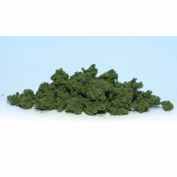 Woodland Scenics FC183 Med Green Clump Foliage - Bag Scenic Brush Flock