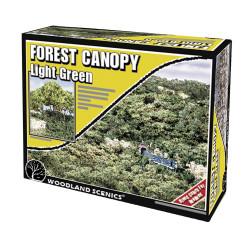 Woodland Scenics F1660 Light Green Forest Canopy Scenic Brush Foliage Flock