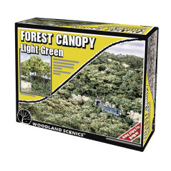 Woodland Scenics F1660 Light Green Forest Canopy Scenic Brush Foliage Flock