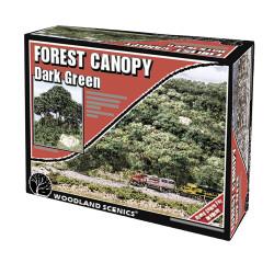 Woodland Scenics F1662 Dark Green Forest Canopy Scenic Brush Foliage Flock