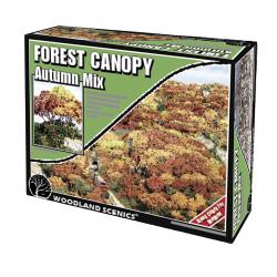 Woodland Scenics F1663 Autum Mix Forest Canopy Scenic Brush Foliage Flock