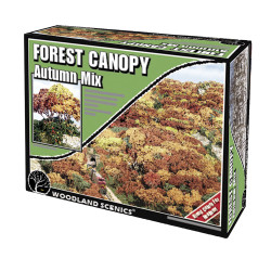 Woodland Scenics F1663 Autum Mix Forest Canopy Scenic Brush Foliage Flock