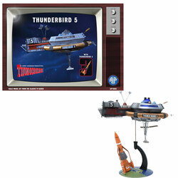 Adventures In Plastic Thunderbird 5 with Thunderbird 3 Plastic Model Kit