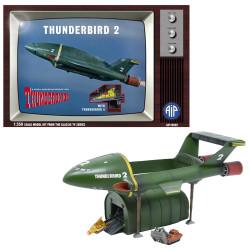 Adventures In Plastic Thunderbird 2 with Thunderbird 4 1:350 Plastic Model Kit