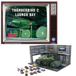 Adventures In Plastic Thunderbird 2 Launch Bay 1:350 Plastic Model Kit