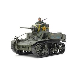 TAMIYA 35360 US Light Tank M3 Stuart Late Prod 1:35 Tank Model Kit