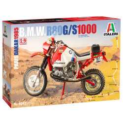 Italeri 4641 BMW 1000 Dakar 1985 1:9 Plastic Bike Kit