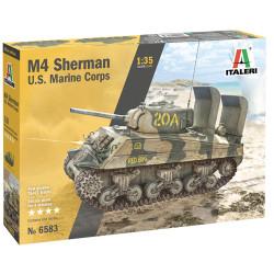 Italeri 6583 M4A2 U.S. Marine Corps 1:35 Plastic Model Kit
