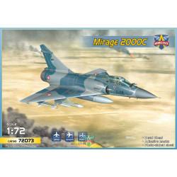 ModelSvit 72073 Dassault Mirage 2000C Fighter Jet 1:72 Plastic Model Kit