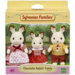 Sylvanian Families Chocolate Rabbit Family 3 Figures 5304