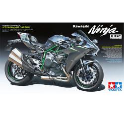 TAMIYA Kawasaki Ninja H2 Carbon 1:12 Plastic Model Bike Kit 14136