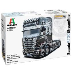 Italeri 3952 Scania R730 Streamline 4x2 Show Truck 1:24 Plastic Model Kit