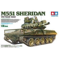 TAMIYA 35365 Sheridan M551 Vietnam 1:35 Tank Model Kit