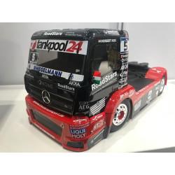 Tamiya RC 58683 Mercedes Tankpool 24 MP4 Racing Truck (TT-01E) 1:14 Assembly Kit