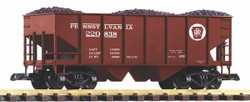 Piko Pennsylvania Rib Sided Hopper w/Coal Load PK38916 G Scale