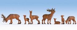 Noch Deer (7) Figure Set N15732 HO Scale