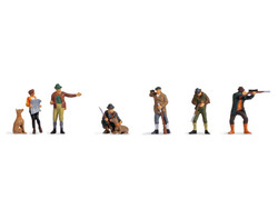 Noch Hunters & Foresters (6) Figure Set N15059 HO Scale