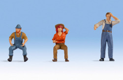 Noch Tractor Drivers (3) Figure Set N17841 O Scale