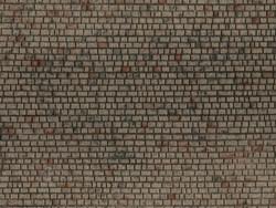Noch Ashlar Masonry 3D Structured Walling 28x10cm N60372 HO Scale
