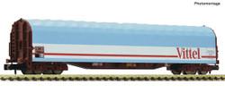 Fleischmann SNCF Rils Vittel Sliding Tarpaulin Wagon IV FM837711 N Scale