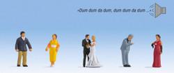 Noch Wedding Sound Scene N12861 HO Scale
