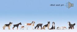 Noch Guard Dogs Sound Scene N12852 HO Scale
