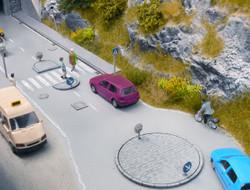 Noch Roundabout Laser Cut Minis Kit N14388 N Scale