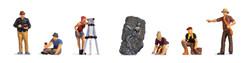 Noch Archaeologists (6) Figure Set N15043 HO Scale