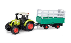Claas Arion 540 with Cattle Trailer CLA184013 1:32 Scale
