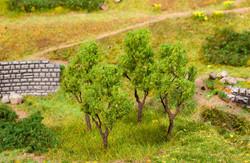 Faller Alder Trees 60-70mm (4) FA181378 HO Scale