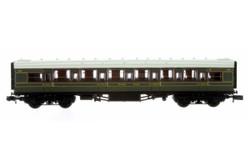 Dapol Maunsell High Window CK Coach 5635 Lined Olive Green DA2P-014-040 N Scale