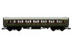 Dapol Maunsell High Window FK Coach 7228 Lined Olive Green DA2P-014-060 N Scale