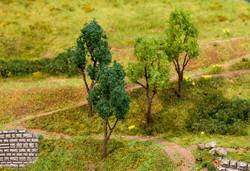 Faller Assorted Trees 60-70mm (4) FA181379 HO Scale