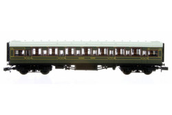 Dapol Maunsell High Window TK Coach 1122 Lined Olive Green DA2P-014-080 N Scale