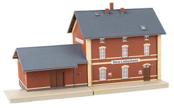 Faller Gera-Liebschwitz Station Model of the Month Kit FA191759 HO Scale