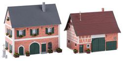 Faller Stud Farm Kit FA130542 HO Scale