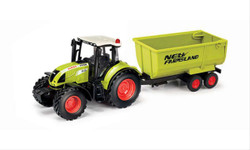 Claas Arion 540 with Tipper Trailer CLA184015 1:32 Scale