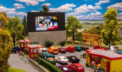Faller Drive In Cinema Kit IV FA130880 HO Scale