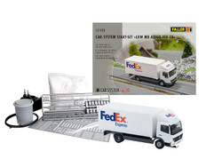 Faller Car System MB Atego FedEx Starter Set FA161488 HO Scale